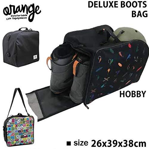 オレンジ スノーボード デラックスブーツバッグ ORAN'GE DELUXE BOOTS BAG /HOBBY2035 40122 オレンジ ブーツケース ORANGE 【C1】