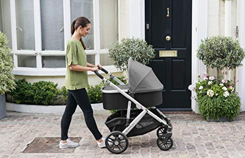 UPPAbaby Bassinet - JORDAN (charcoal/silver/black leather)
