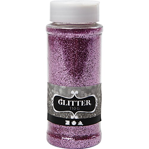 Glitter, pink, 110g
