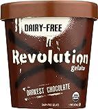 Revolution Gelato - Darkest Chocolate, 6 pack pints