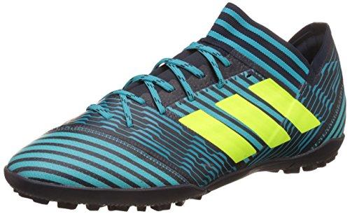 adidas Nemeziz Tango 17.3 Tf, Scarpe da Calcetto Indoor Uomo, Multicolore Inchiostro/Giallo/Blu (Legend Ink Solar Yellow Energy Blue), 40 EU