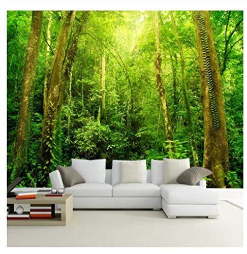 3D Mural Papier Tapete Fototapete Wand Dekoration Wald-Tapete @ 400Cm * 280Cm