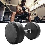 VERLOCO Hantel Gym Professional Rubber, Körperformung Handgewichte, Bodybuilding, Bildhauertraining...