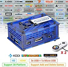 TAPDRA Arcade Video Game Station with 17082 Games, Support Add Games, 128GB Fast Card Retro Orange Pi PC Gaming Kit, Plug ...