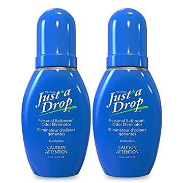 Just a Drop - America's Favorite Bathroom Odor Eliminator