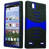 uBLACK/Blue Phone Case Cover for ZTE Lever LTE / Z936L / Z936C