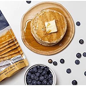Keto Pancake & Waffle Mix by Keto and Co   Fluffy, Gluten Free, Low Carb Pancakes   2.0g Net Carbs per Serving   No Sugar Added   Diabetic & Keto Friendly   Makes 30 Pancakes #1