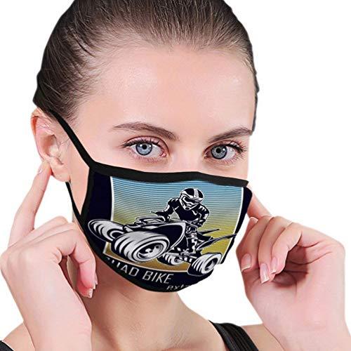 Herbruikbare Mond Masker voor quad fiets extremeprint Tekenen
