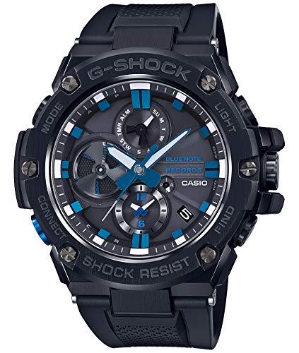 [カシオ] 腕時計 ジーショック G-STEEL BLUE NOTE RECORDS コラボレーションモデル GST-B100BNR-1AJR メン...
