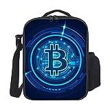 Bolsa Del Almuerzo Bitcoin Azul Organizador Del Almuerzo Impermeable Bolsa Porta Alimentos Aislamiento Bolsa Porta Prueba De Fugas Bolsa Almuerzo