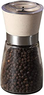Glass Pepper Material 304 Manual Machine Mixing Black Pepper Pepper Mill Crushed Small Powder Manual Grinding Rollsnownow
