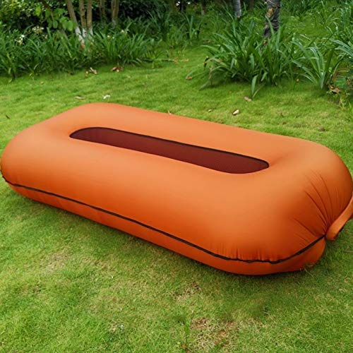 Sofá Inflable Portable Inflable Muebles de Exterior sofá Cama Nylon Air Couch Outside Camping Beach Jardín Muebles Oficina Dormir Daybed Coffee