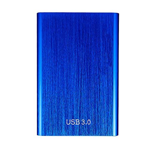 TSMALL Disco Duro Externo portátil 丨 14.8 Pulgadas USB 3.0 SSD móvil 丨 500GB 1TB 2TB Disco Duro Externo portátil Deive Mobile para PC Laptop, Mac, Portable Mobile