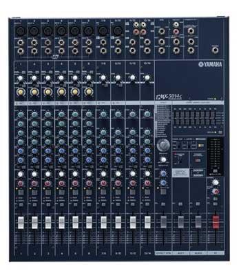 3. Yamaha EMX5014C 14-Input Powered Mixer