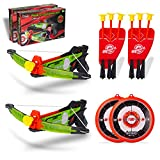 NeatoTek 2 Packs Kids Archery Bow Arrow Toy Set with Targets, Suction Cup