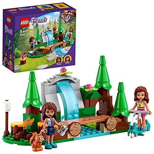 LEGO 41677 Friends Bosque: Cascada, Juguete de Construcción para Niñas y Niños +5 Años con Mini Muñecas