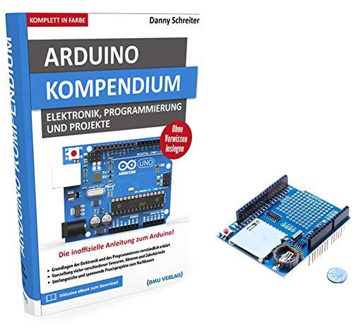 AZDelivery Großes Arduino Kompendium Buch mit gratis Daten Logger