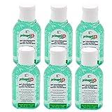 PRIMAGEL PLUS - GEL IGIENIZZANTE MANI - per disinfettare e igienizzare le mani senza acqua (6 Pack 50 ml)