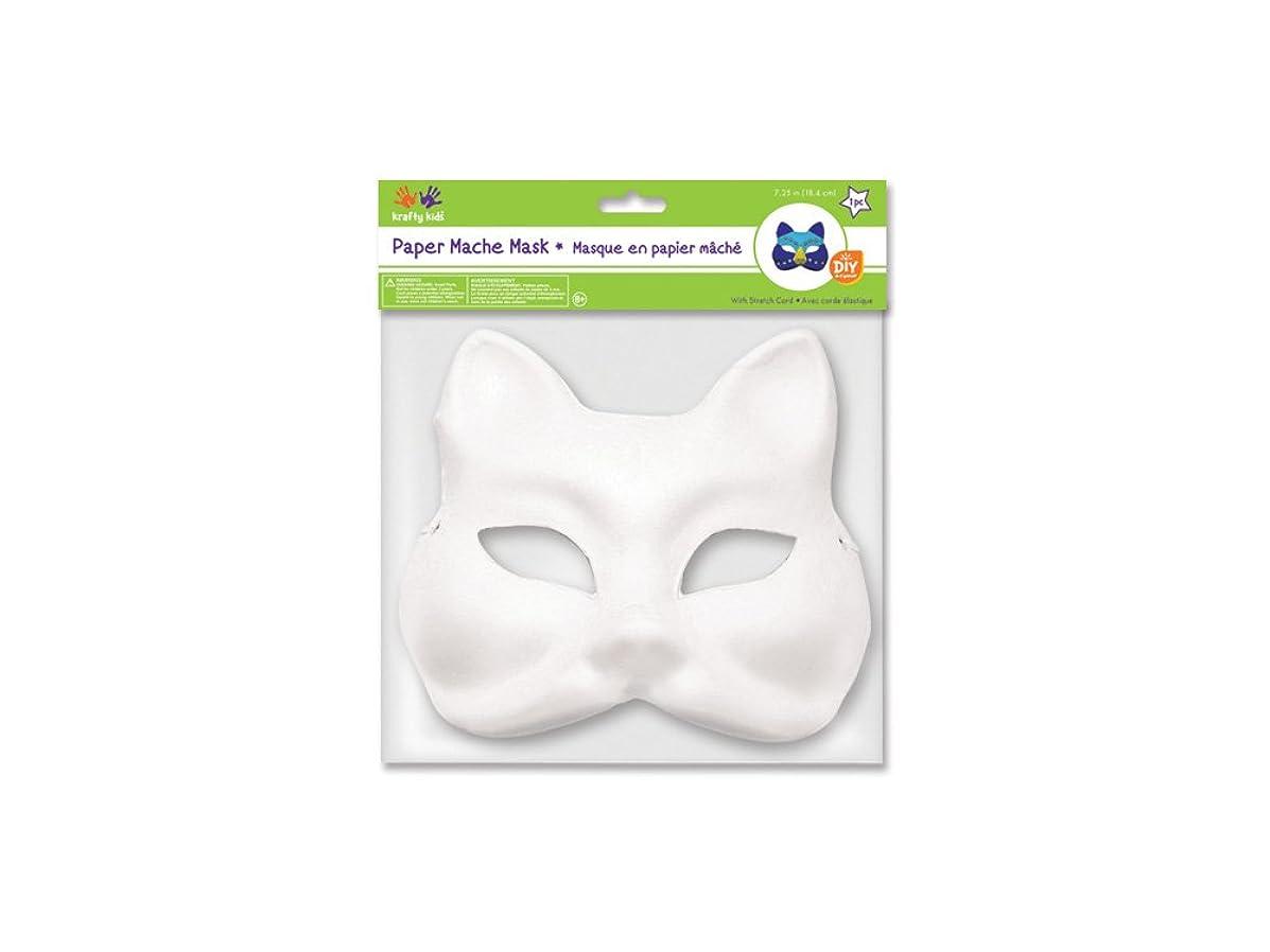 MultiCraft MULKC260.D DIY Paper Mache Mask with Band Fox