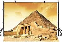 HD 10x7ftピラミッド背景エジプトピラミッドワールドワンダー写真背景ポリエステル写真写真の背景室内装飾壁紙LYP166
