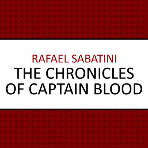 The Chronicles of Captain Blood audiobook cover art