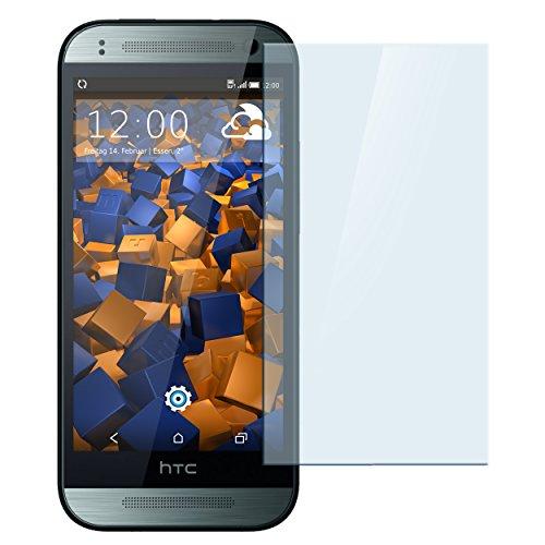 mumbi Hart Glas Folie kompatibel mit HTC One mini 2 Panzerfolie, Schutzfolie Schutzglas (1x)