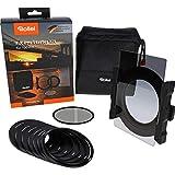 Rollei F:X Pro Starter Kit I Portafiltros para filtros de 100mm, Incl. Filtro