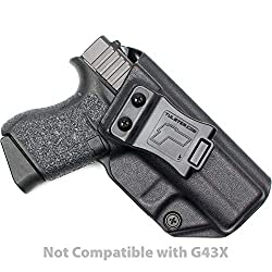 The 5 Best Holsters for the Glock 43 (IWB & OWB) - Firearm