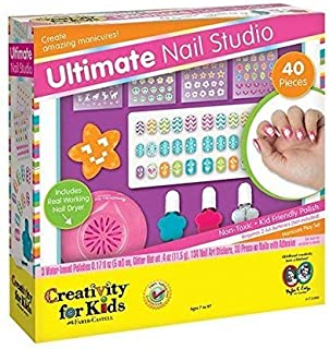 Hot Focus Girls Ultimate Nail Studio Manicure Gift Set Kit