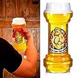 ootb Verre à bière, sans Douleur, sans bière, pour Environ 830 ML - Hauteur : Environ 22 cm.