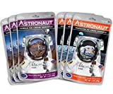 Astronaut Foods Freeze-Dried Ice Cream Sandwich, NASA Space Dessert, Variety Pack with Vanilla and Neapolitan, 6 Count