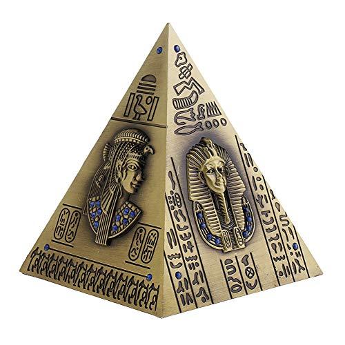 Deerbird® Hucha - Creativo Bronce Egipcio Pirámide