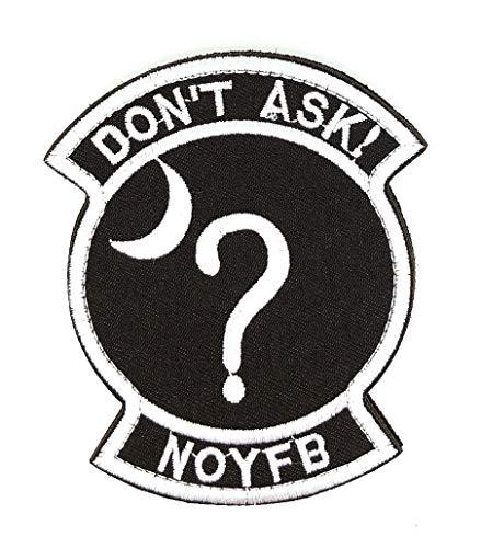 Gemelolandia Parche Bordado Do Not Ask NOYFB 9,5cm