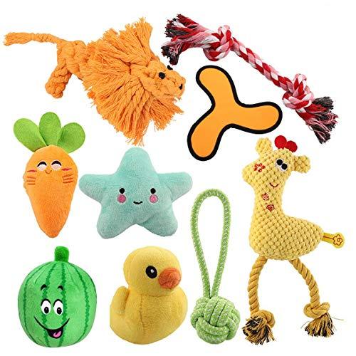 HomeMall Hundespielzeug Quietschenspielzeug,Seil Kinderkrankheiten Plüschspielzeug für Kleiner Hund