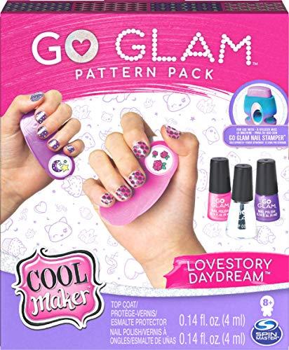 Cool Maker Go Glam, Confezione Ricarica Smalti e Decorazioni Multipla per 100 Unghie