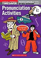 Timesaver Pronunciation Activities Elementary - Intermediate with audio CD by Bill Bowler(2005-03-18)