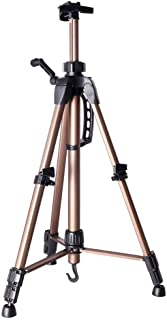 Easel Tripod Painting Stand Aluminum Sketch Sketchpad Frame Drawing Holder - Black