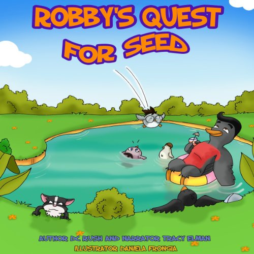 Robby's Quest for Seed audiobook cover art