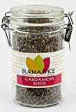 Cardamom Seeds, Whole   Aromatic Multipurpose Seasoning   Ideal for Aromatizing Stews, Soups, Dressings and Some Cocktails 2.6 oz.