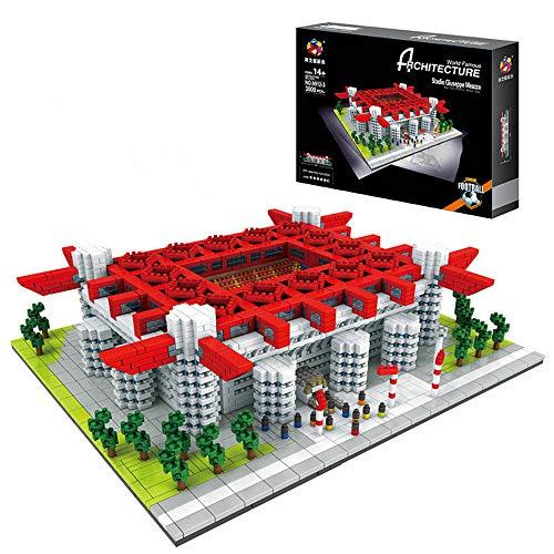 N\P 3D Puzzle San Siro Stadium Weltberühmtes Stadion 3800St