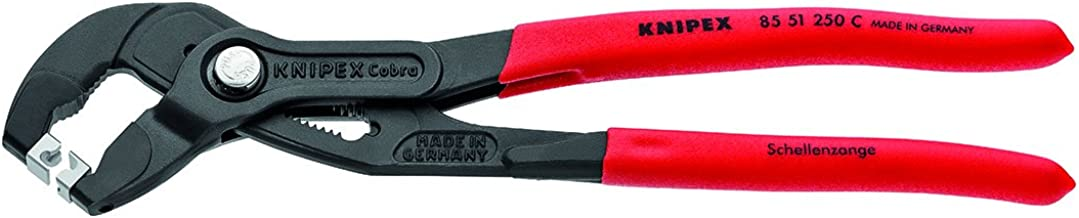 KNIPEX Tools Grip On KNP8551250CSBA Plier (Cobra Hose Clamp s for Clic Clamps)