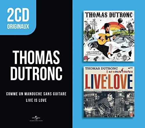 2 CD Originaux: comme Un Manouche sans Guitare/Live is Love