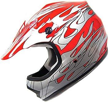 HHH DOT Youth /& Kids Helmet for Dirtbike ATV Motocross MX Offroad Motorcyle Street bike MATTE BLACK Medium SmartDealsNow