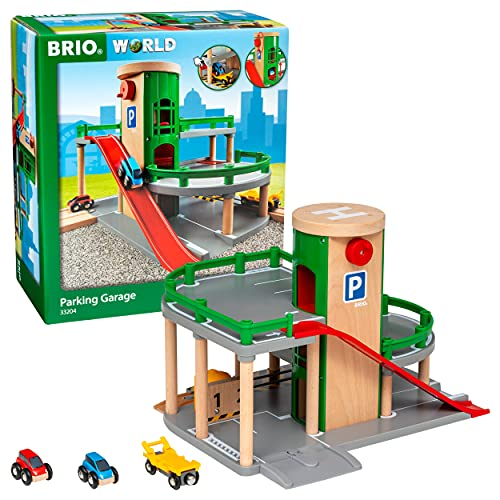 Brio Wooden Toy Garages for Toddlers