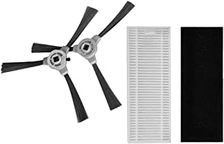 Coredy Filter and Side Brush Replacement Kit for Coredy R3500 Robot Vacuum Cleaner