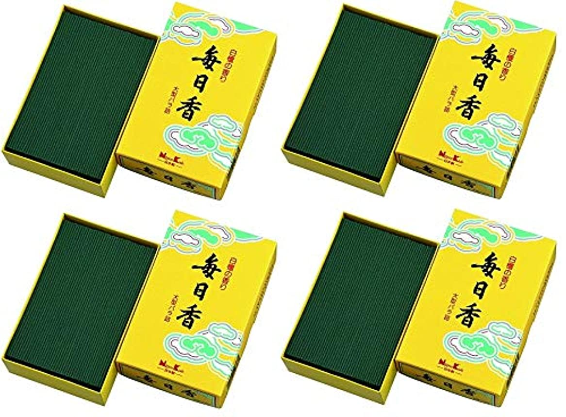 釈義チャペルクリーナー【まとめ買い】毎日香 大型バラ詰 約240g×4個