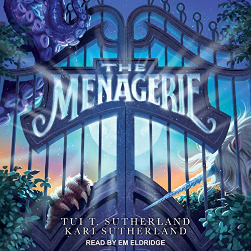 The Menagerie audiobook cover art