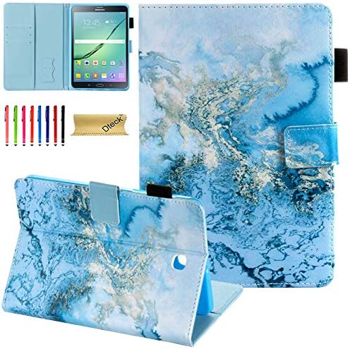 Galaxy Tab S2 8 0 Case Dteck Folio Stand PU Leather Protective Case with Auto Sleep Wake Card product image