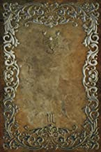 Monogram Scorpio Notebook: Blank Diary Journal Log Notebook (Monogram Rustic 150 Lined) (Volume 78)