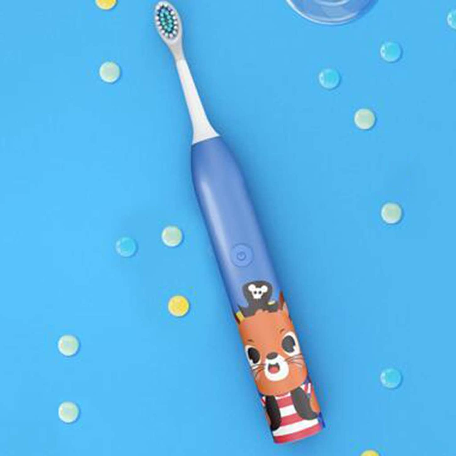 アルプス飽和する発症子供用電動歯ブラシ、誘導充電、カラーチェンジ(2モデル) (色 : Pink)
